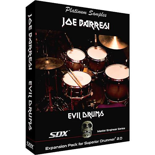 Platinum Samples Joe Barresi Evil Drums SDX for Superior Drummer 2.0 Sample Collection