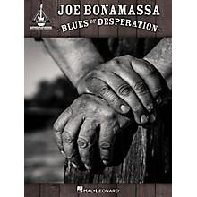 Hal Leonard Joe Bonamassa - Blues of Desperation Guitar Tab Songbook