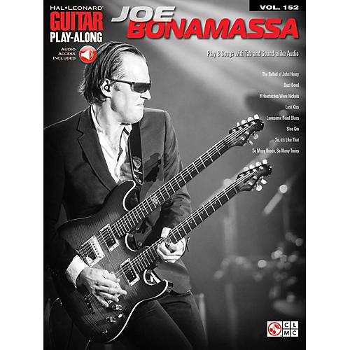 Cherry Lane Joe Bonamassa - Guitar Play-Along Volume 152 Book/Online Audio-thumbnail