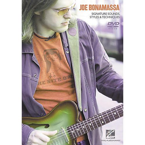 Hal Leonard Joe Bonamassa - Signature Sounds, Styles and Techniques (DVD)-thumbnail