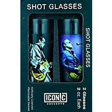 Axe Heaven Joe Bonamassa 2-Piece Shot Glass Set - Lithos Collection 1