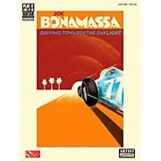 Cherry Lane Joe Bonamassa Driving Towards The Daylight Guitar Tab Songbook