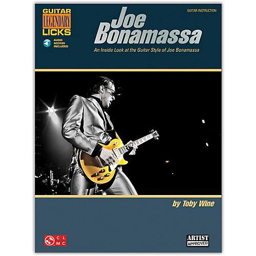 Cherry Lane Joe Bonamassa Legendary Licks Book/CD-thumbnail