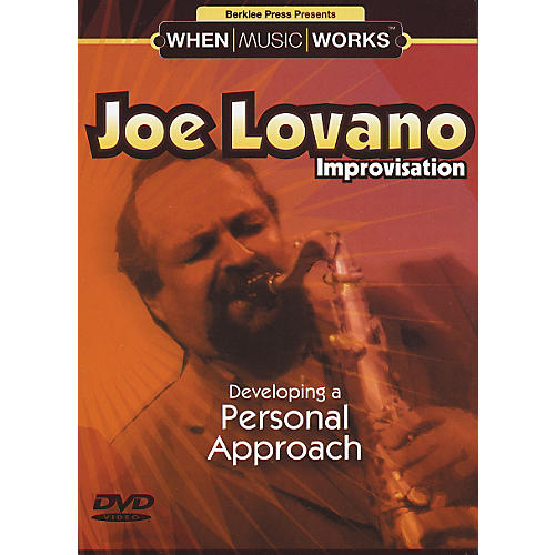 Berklee Press Joe Lovano Improvisation Saxophone (DVD)-thumbnail