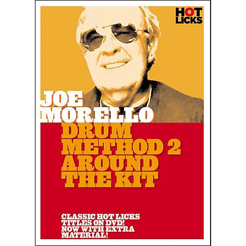 Hot Licks Joe Morello Drum Method 2: Around the Kit (DVD)-thumbnail