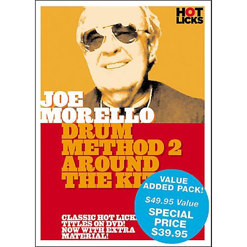 Music Sales Joe Morello Value Pack DVD