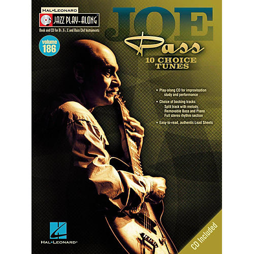 Hal Leonard Joe Pass - Jazz Play-Along Volume 186 Book/CD-thumbnail