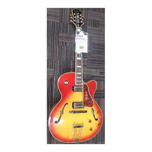 epiphone joe pass emperor ii 2 tone sunburst hollow body electric guitar 2 tone sunburst. Black Bedroom Furniture Sets. Home Design Ideas