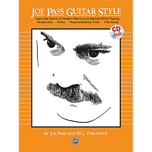 Alfred Joe Pass Guitar Style Book & CD