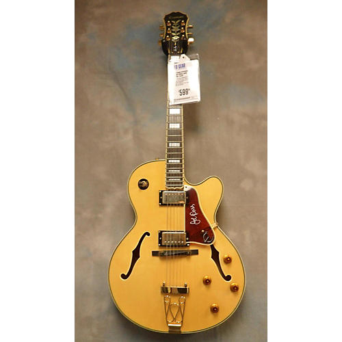 used epiphone joe pass hollow body electric guitar guitar center. Black Bedroom Furniture Sets. Home Design Ideas