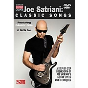 Cherry Lane Joe Satriani - Classic Songs: A Step-By-Step Breakdown Of Joe Satriani's Guitar Styles And Techniques (DVD)