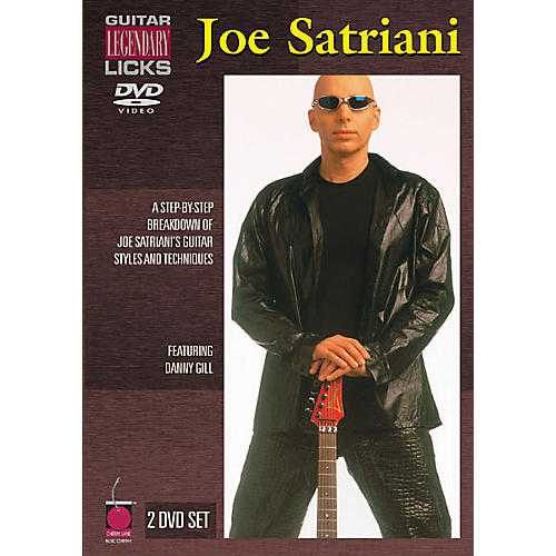 Cherry Lane Joe Satriani (2-DVD Set)-thumbnail