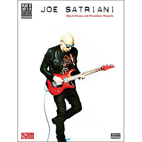 Hal Leonard Joe Satriani: Black Swans And Wormhole Wizards Guitar Tab Songbook-thumbnail