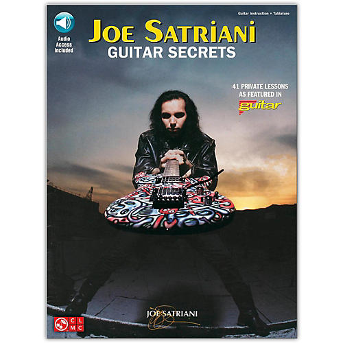 Hal Leonard Joe Satriani Guitar Secrets (Book/CD)