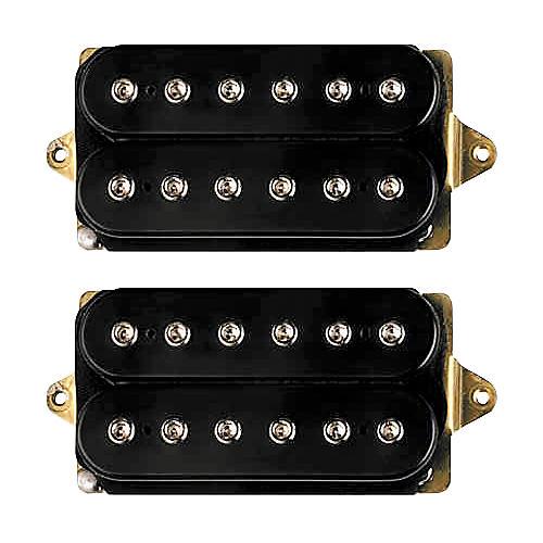 DiMarzio Joe Satriani Humbucker Set F-SP NK F-SP BRDG Black For 42mm Nut (1-5/8