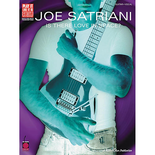 Cherry Lane Joe Satriani Is There Love in Space? Guitar Tab Songbook-thumbnail