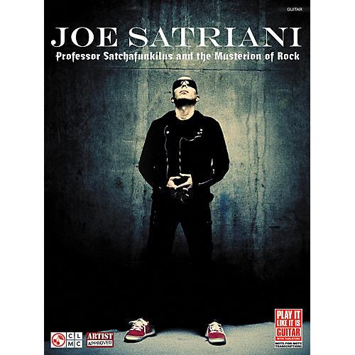 Cherry Lane Joe Satriani: Professor Satchafunkilus and the Musterion of Rock Guitar Tab-thumbnail