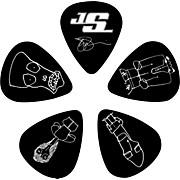 D'Addario Planet Waves Joe Satriani Signature Guitar Picks 10-Pack