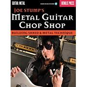 Berklee Press Joe Stump's Metal Guitar Chop Shop - Building Shred & Metal Techniques Book/Audio Online