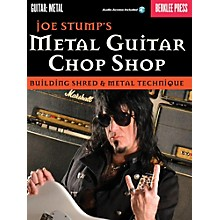 Berklee Press Joe Stump's Metal Guitar Chop Shop - Building Shred & Metal Techniques Book/Audio Online
