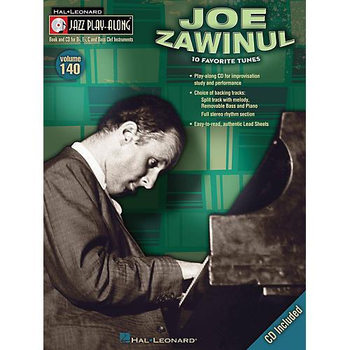Hal Leonard Joe Zawinul (Jazz Play-Along Volume 140) Jazz Play Along Series Softcover with CD by Joe Zawinul