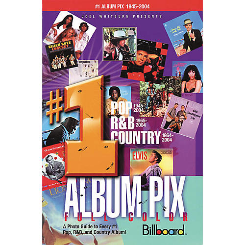 Record Research Joel Whitburn Presents #1 Album Pix Book-thumbnail