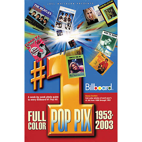 Record Research Joel Whitburn Presents #1 Pop Pix, 1953-2003 Book