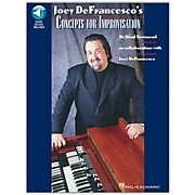 Hal Leonard Joey DeFrancesco's Concepts For Improvisation Book/CD