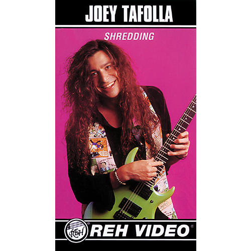 Alfred Joey Tafolla Shredding Video
