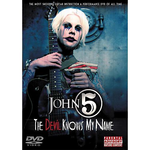 Hal Leonard John 5 - The Devil Knows My Name DVD-thumbnail
