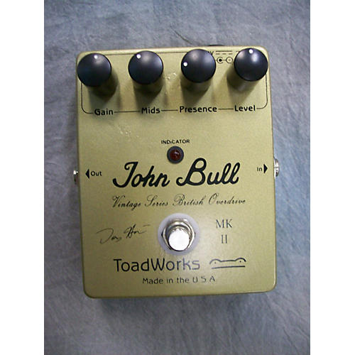 Toadworks John Bull Effect Pedal