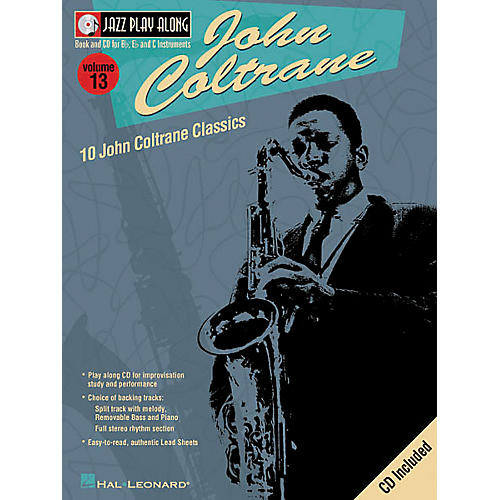 Hal Leonard John Coltrane - Jazz Play Along Volume 13 Book with CD-thumbnail