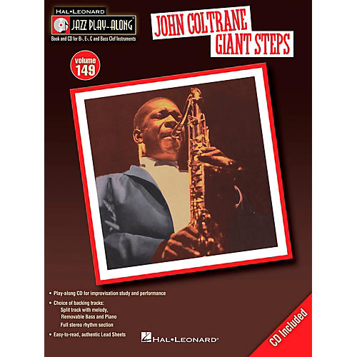 Hal Leonard John Coltrane Giant Steps - Jazz Play-Along Volume 149 Book/CD