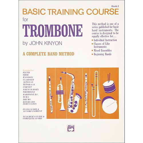 Alfred John Kinyon's Basic Training Course Book 2 Trombone-thumbnail