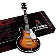 Axe Heaven John Lennon Classic 1965 Sunburst Casino Miniature Guitar Replica Collectible