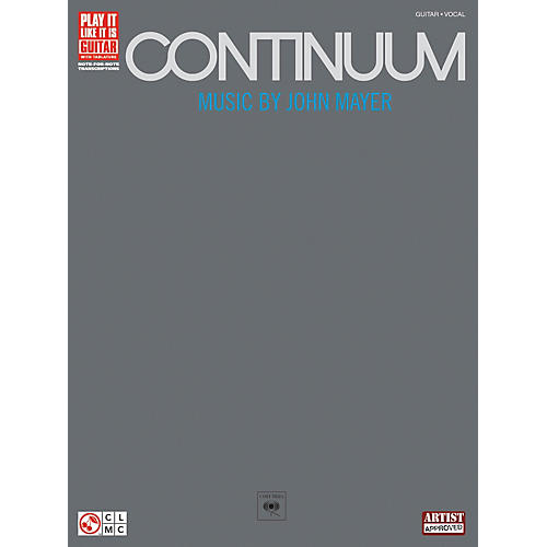 Hal Leonard John Mayer Continuum Guitar Tab Songbook-thumbnail