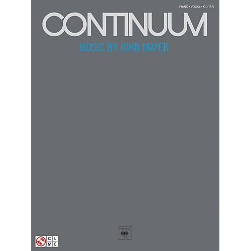 Hal Leonard John Mayer Continuum Piano, Vocal, Guitar Songbook-thumbnail