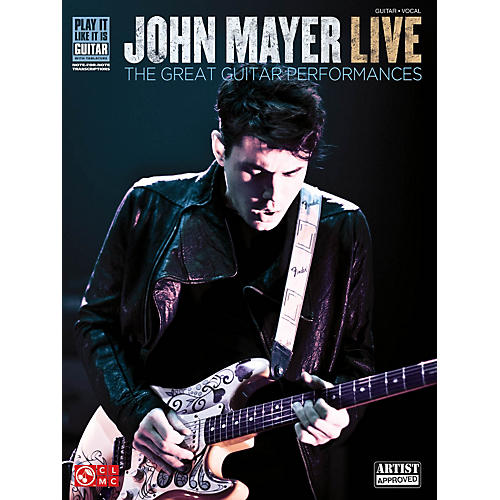 Cherry Lane John Mayer Live - The Great Guitar Performances Guitar Tab Songbook-thumbnail