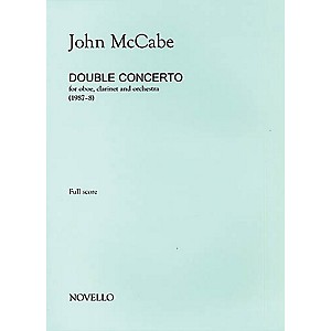 Music Sales John McCabe: Double Concerto For Oboe, Clarinet and Orchestra ...