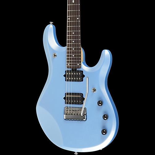 ernie ball music man john petrucci 6 electric guitar w piezo bridge sky blue rosewood inlay. Black Bedroom Furniture Sets. Home Design Ideas