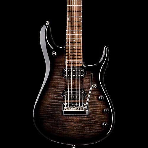 Ernie Ball Music Man John Petrucci BFR 7 Electric Guitar Black Burst Flame Maple