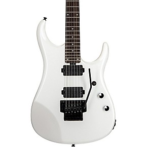 sterling by music man john petrucci signature series 6 string electric guitar pearl white. Black Bedroom Furniture Sets. Home Design Ideas