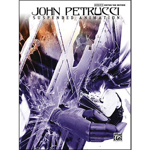 Alfred John Petrucci Suspended Animation Guitar Tab-thumbnail