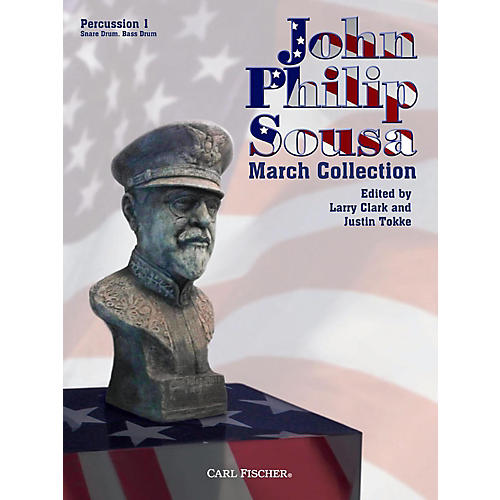 Carl Fischer John Philip Sousa March Collection - Percussion 1-thumbnail