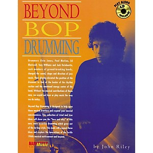 Alfred John Riley Beyond Bop Drumming Book/CD by Alfred