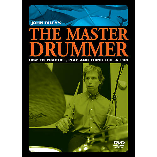Alfred John Riley's The Master Drummer DVD-thumbnail
