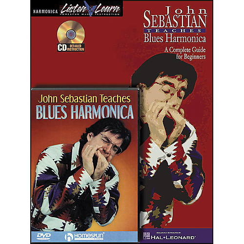 Hal Leonard John Sebastian Bundle Pack (Book/CD/DVD)-thumbnail