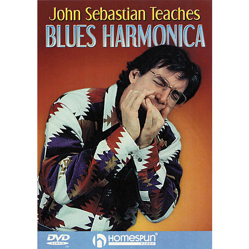 Homespun John Sebastian Teaches Blues Harmonica (DVD)-thumbnail