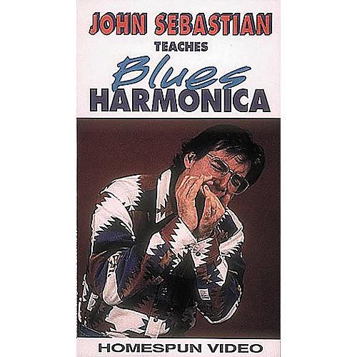 Hal Leonard John Sebastian Teaches Blues Harmonica