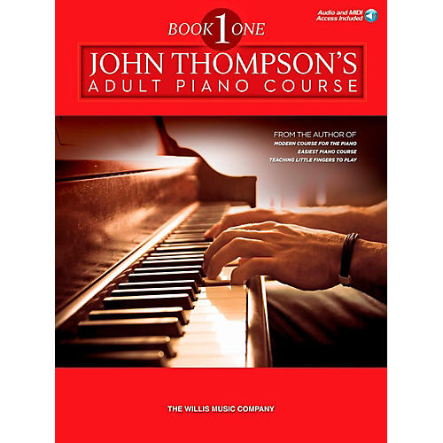 Hal Leonard John Thompson's Adult Piano Course - Book 1 (Book/Audio Online)